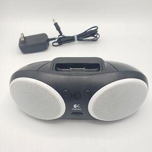 LOGITECH SOUND DOCK PORTABLE SPEAKERS S125I - BLACK 7 WHITE