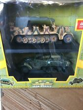SDKFZ.7 8 Ton Halftrack & M3A# US halftrack 1/32 Scale Ultimate Soldier..