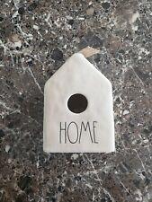 New Rae Dunn Birdhouse Home Nwt Nib Burlap Bow