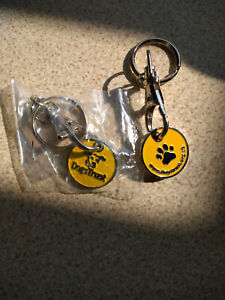 2 Dogs Trust Trolley Coin Key Rings
