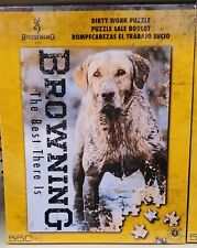 Browning Dirty Work Puzzle -dog