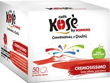 300 CIALDE KOSE' filtro carta ESE 44mm  MISCELA CREMOSISSIMO ROSSO KIMBO OFFERTA