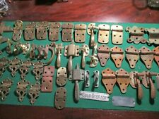 50 pc. Solid Brass Vintage Ice Box Hardware