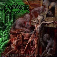 EUPHEGENIA (US) – Telexistent Depravity MCD 2014 (Brutal Death Metal)