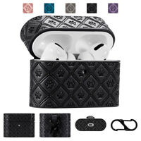 Luxury Case For Apple AirPods Pro Leather Protect Cover Skin For Airpods 1st 2nd