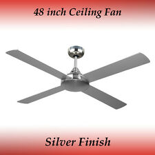 Fias Revolve 48 Inch Ceiling Fan in Brushed Chrome