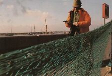 Industries of Old Leigh - Mending the nets