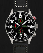 ASTROAVIA XL AIR CRAFT 21L NEW EDITION 6 ZEIGER CHRONOGRAPH 44mm FLIEGERUHR N55L
