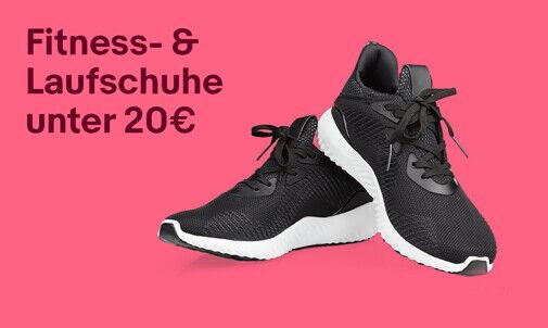Fitness- & Laufschuhe unter 20€