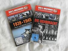 2 DVDs - Der 2. Weltkrieg -  Die Wehrmacht/ 1939-1945 - FSK 16
