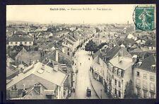 Carte Postale Ecrite en 1909 SAINT DIÉ (Vosges) Panorama SUD-EST Vue Générale