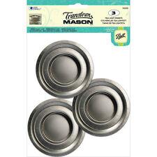 Ball 1026303 Transform Mason Tea Light Lid Inserts, 3 Pack