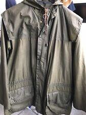 barbour durham waxed jacket Unlined Rare Vintage C36 Excellent Condition