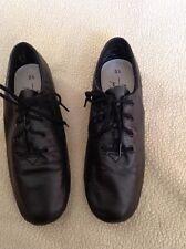 black ABT Ballet Spotlights split sole dance shoes , sz 5.5 (s15)