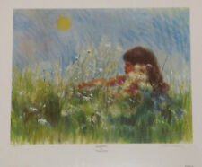 """""""Gathering"""" by Frances Hook Limited Edition Hand Signed Art Print 1982 Roman Inc"""