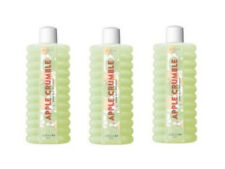 3 X AVON APPLE CRUMBLE BUBBLE BATH 3 X 500ML