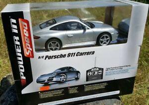 Radio Control Porsche 911 997 SilverLit NIB
