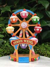 Miniature Dollhouse FAIRY GARDEN ~ Candy CARNIVAL Ferris Wheel