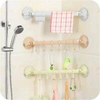 Kitchen Bathroom Plastic Wall Stand No trace Hanger Vacuum Sucker Suction yz