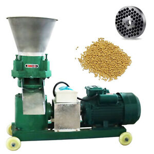220V Animal Feed Pellet Mill Machine 12mm Grind Size High power Feed Machine