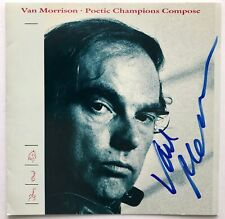 Van Morrison signed cd poetic champions compose epperson loa