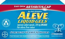 Aleve Liquid Gels with Easy Open Arthritis Cap, 80 Liquid Gels Each
