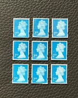 100 x 2nd Class Royal Mail Unfranked Stamps,No Gum ,Off Paper Stamps ,FV £60.00