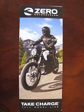 Brochure Zero Motorcycles 2014 Model Line, Take Charge (Nederlands)