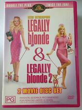 LEGALLY BLONDE 1 & 2  R4 DVD FREE POST