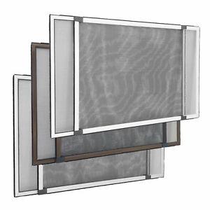 Moustiquaire avec cadre réglable aluminium fenêtre portes sans percer JAROLIFT