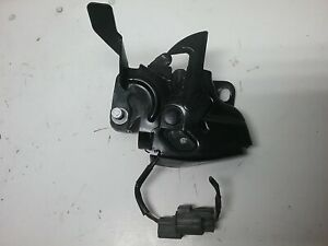 2003-2007 Honda Accord EX Front Hood Lock Latch  (Black Color) 4 Door Sedan