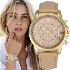 Luxury Women Leather Band Quartz Wrist Watch Geneva Analog Dial Casual Watches