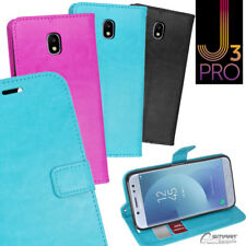 Wallet Flip Card Slot Stand Case Cover For Samsung Galaxy J3 Pro /  J5 Pro