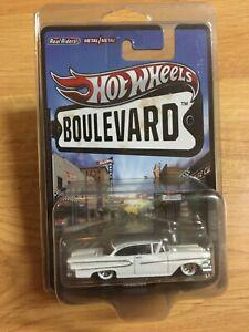 Hot Wheels 2011 Boulevard Legends '58 EDSEL Real Riders Pro Pack