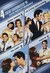Elvis Presley Musicals 4 Film Favorites DVD R4 Tickle Me, Girl Happy, Kissin' co