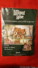 ANCHOR LILLIPUT LANE 'Home is Where the Heart is' Counted Cross Stitch Kit LL210