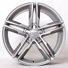 17 Zoll Alufelgen für Audi S3 A3 A4 B8 8K A5 A6 4G 4G1 4F Q5 Q3 WH11 Grau Felgen