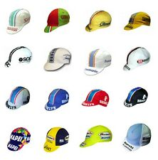 Cappellino Ciclismo Vintage Team Sottocasco Cycling Hat Cap Old Pro One Size