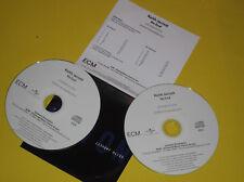 2 CD PROMO  PRESSAGE FRANÇAIS KEITH JARRETT NO END