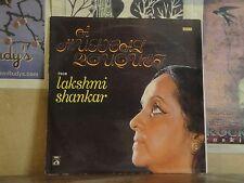 LAKSHMI SHANKAR, MUSICAL BOUQUET - INDIAN LP ECSD 2749