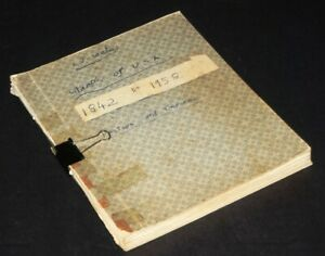 US Stamps in Homemade Album 1850s-1950s w/B.O.B. / Revenues / Officials