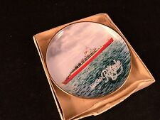 Vintage Kaiser West Germany Souvenir China Plate From Star Ship Royale