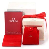 Omega Watch Box Genuine Leather Seamaster,Constelation  Women's Watch Box Case.