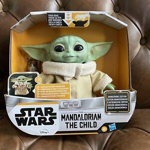 Hasbro Star Wars The Mandalorian Baby Yoda Grogu The Child Animatronic Edition