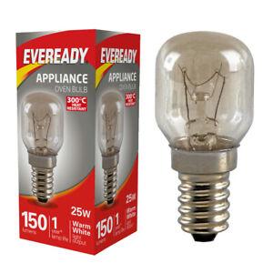 25W Eveready 300°C Pygmy Cooker Oven Appliance Lamp 240V 2800K SES E14 (S1022)