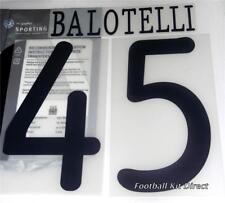 Manchester City Balotelli UEFA CHAMPIONS LEAGUE 2011/12 Football Shirt Name Set