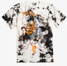 Anime Dragon Ball Z BLEACH WASH TIE DYE T-Shirt NEW Authentic & Official