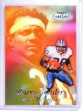 1999 Topps Gold Label Race To Black Payton Barry Sanders #R8 *63622