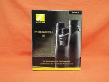 NIKON Monarch 3 10x42 Binoculars #7541 Black NEW in box