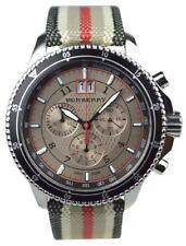 Burberry 7600 -  Endurance Mens Fabric Chronograph Watch